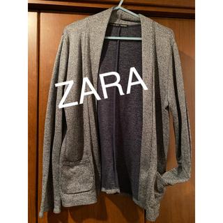 ザラ(ZARA)の【中古】ZARA men綿カーディガン(カーディガン)