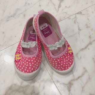 ディズニー(Disney)のミニーちゃん ディズニー 上靴 上履き スクールシューズ(スクールシューズ/上履き)