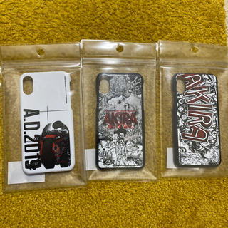 AKIRA ART OF WALL iphone  cover 全3個セット