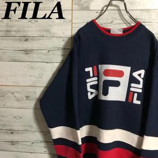 フィラ(FILA)の[激レア] FILAビッグサイズビッグロゴラインデザイン 12000(Tシャツ(長袖/七分))