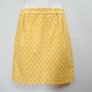 ケイトスペードニューヨーク(kate spade new york)のケイトスペードニューヨーク ミニスカート 四葉のクローバー柄スカート 送料無料(ミニスカート)