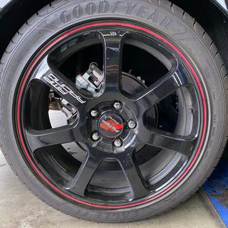 グッドイヤー(Goodyear)のバリ溝アルミセット!RMPレーシング R07 + EAGLE F1(タイヤ・ホイールセット)