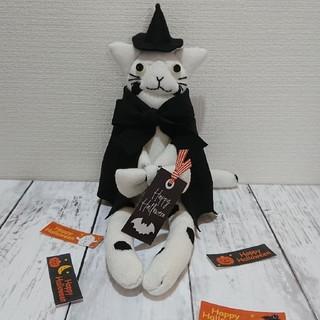 靴下で作るソックキャト<白黒水玉猫ちゃん>