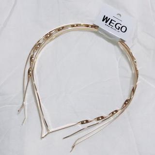 ウィゴー(WEGO)のwego カチューシャ 4本セット 新品未使用(カチューシャ)