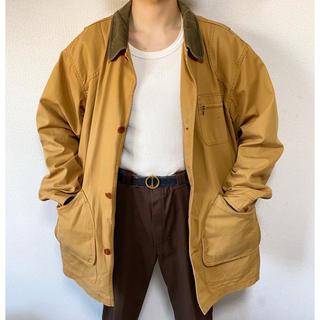 エルエルビーン(L.L.Bean)の希少モデル vintgae ヴィンテージ 90s ダック地ハンティングジャケット(カバーオール)