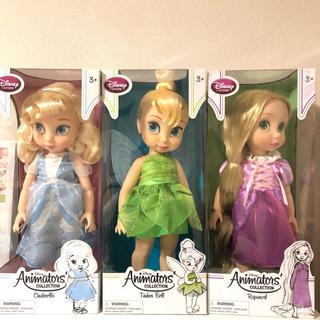 ディズニー(Disney)のディズニー 人形 シンデレラ ラプンツェル ティンカーベル(ぬいぐるみ/人形)
