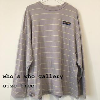 フーズフーギャラリー(WHO'S WHO gallery)のwho'swho gallery ロンティー(Tシャツ(長袖/七分))