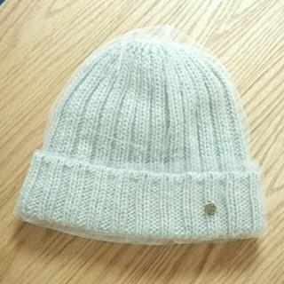 パサージュミニョン(passage mignon)のパサージュミニョン⭐チュール ニット帽(ニット帽/ビーニー)