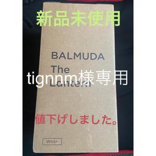 バルミューダ(BALMUDA)のBALMUDA The Lantern L02A (ホワイト)(ライト/ランタン)