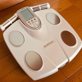 オムロン(OMRON)の体脂肪計オムロン体重体組成計karada scanカラダスキャン(体重計/体脂肪計)