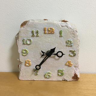 ジブリ(ジブリ)のジブリ美術館 モザイクタイル時計(置時計)