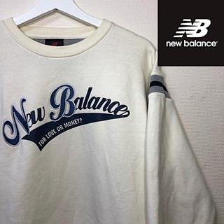 ニューバランス(New Balance)の90s USED New Balance ロゴ 切り替え スウェット トレーナー(スウェット)