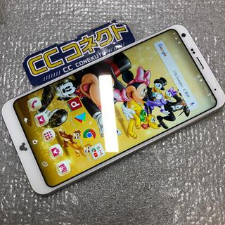 ディズニー(Disney)のドコモ Disney Mobile DM-01K ホワイト ジャンク(スマートフォン本体)