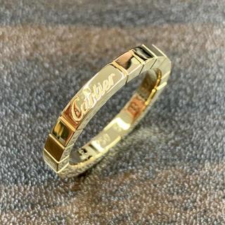 カルティエ(Cartier)のtkms様専用カルティエ ラニエール リング K18 イエローゴールド 16号(リング(指輪))