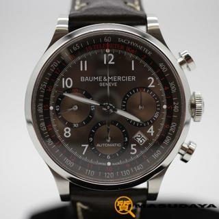 ボームエメルシエ(BAUME&MERCIER)のボーム&メルシエケープランドクロノグラフ【美品】(腕時計(アナログ))
