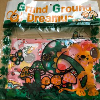 グラグラ(GrandGround)の超レア!格安新品グラグラ☆ランチクロス入園入学レトロ送料込み初期人気完売給食(その他)