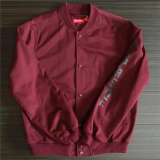 シュプリーム(Supreme)の超希少 Supreme antihero Bomber jacket 赤M(ブルゾン)