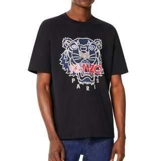 ケンゾー(KENZO)の9 KENZO タイガー ブラック Tシャツ size S (Tシャツ/カットソー(半袖/袖なし))