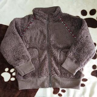 ムジルシリョウヒン(MUJI (無印良品))の無印良品 もこもこジャンパー 110cm(ジャケット/上着)