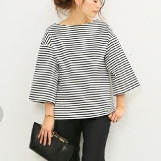 ドゥーズィエムクラス(DEUXIEME CLASSE)の【Deuxieme Classe】wide-sleeve Tシャツ(Tシャツ(長袖/七分))
