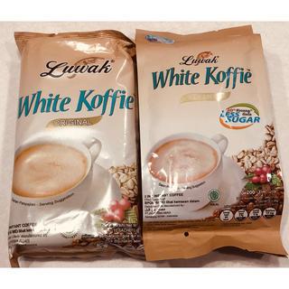 ルアックホワイトコーヒー オリジナル&プレミアムレスシュガーセット(コーヒー)