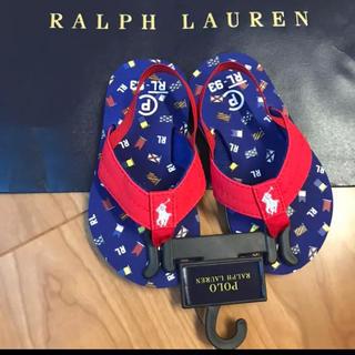ラルフローレン(Ralph Lauren)のラルフローレン サンダル ビーチサンダル 男の子 女の子 16.3cm(サンダル)
