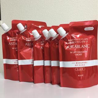 アスタブラン(ASTABLANC)の新品未開封 コーセー アスタブラン 詰め替え 美白化粧水 美白乳液 全7袋(化粧水/ローション)