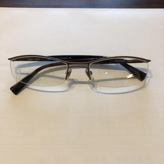 アランミクリ(alanmikli)のアランミクリ 伊達眼鏡 ブラウン AL0421(サングラス/メガネ)