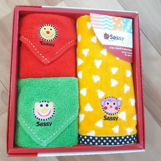 サッシー(Sassy)の【Sassy】ハンドタオル3枚セット 新品未使用(その他)
