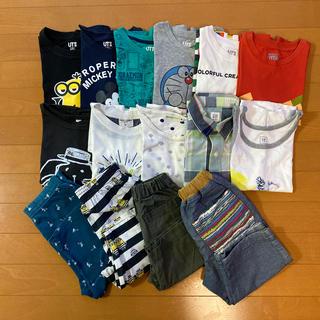 ユニクロ(UNIQLO)のUNIQLO Tシャツ 110㎝ まとめ売り(Tシャツ/カットソー)