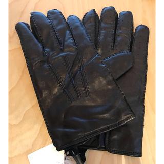 ラルフローレン(Ralph Lauren)の【【最終値下げ】ポロラルフローレン  レザーグローブ 革手袋 レザー手袋(手袋)