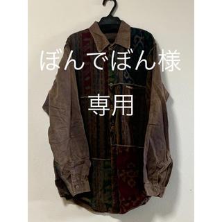 エルロデオ(EL RODEO)の美品⭐︎エルロデオ 柄シャツ(シャツ/ブラウス(長袖/七分))