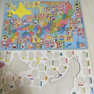 ショウガクカン(小学館)のドラえもん マグネット 日本地図パズル(知育玩具)