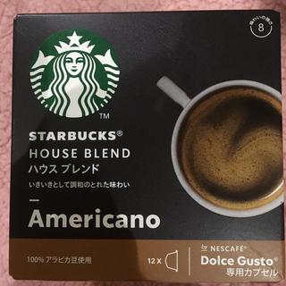 スターバックスコーヒー(Starbucks Coffee)のスターバックス ドルチェグスト 専用カプセル12個(その他)