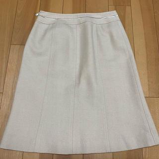 クレージュ(Courreges)のベージュ スカート(ひざ丈スカート)