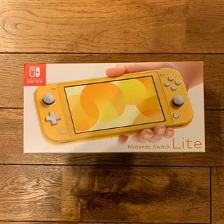 ニンテンドースイッチ(Nintendo Switch)のNintendo Switch Lite イエロー 本体 (家庭用ゲーム機本体)