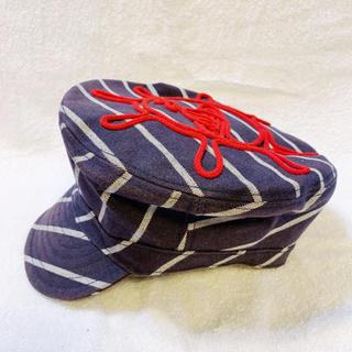 ヴィヴィアンウエストウッド(Vivienne Westwood)のヴィヴィアンウエストウッド オーブ刺繍 マリン帽 キャスケット(キャスケット)