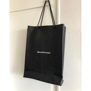 バレンシアガ(Balenciaga)の美品 Balenciaga バレンシアガ レザートートバッグ ショッパー (トートバッグ)