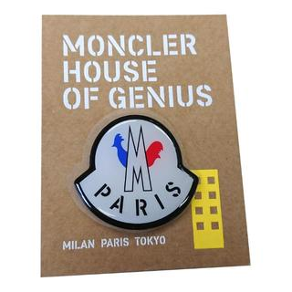 モンクレール(MONCLER)のパリ限定品 MONCLER モンクレール ステッカー シール ホワイト(その他)
