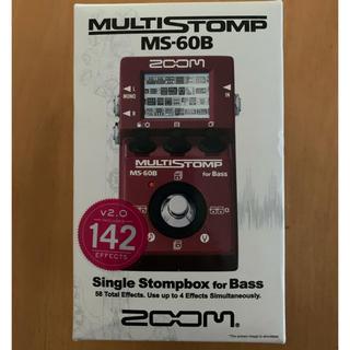 ズーム(Zoom)のZOOM マルチストンプ MS-60B(ベースエフェクター)
