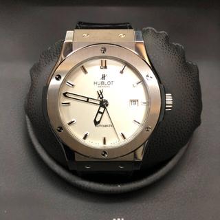 ウブロ(HUBLOT)のHUBLOT クラシックフュージョン 42mm チタニウムオパリン(腕時計(アナログ))