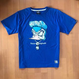 カズロックオリジナル(KAZZROCK ORIGINAL)のkazzrock original ブルー メンズ 3L(Tシャツ/カットソー(半袖/袖なし))