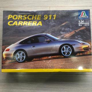 ポルシェ(Porsche)のPORSCHE 911 CARRERA、1/24 プラモデル、イタリア製、未開封(模型/プラモデル)