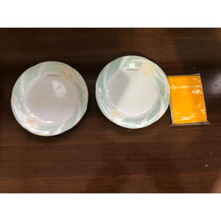 サンローラン(Saint Laurent)のイヴ・サンローラン ケーキ皿 2枚(食器)