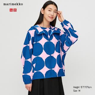 marimekko - 海外限定マリメッコ×ユニクロ コラボポータブルフードパーカー