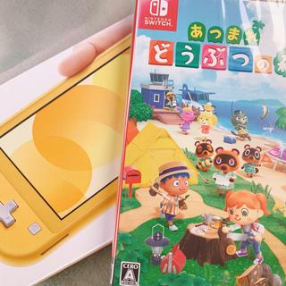 ニンテンドースイッチ(Nintendo Switch)のニンテンドー Switch lite どうぶつの森(携帯用ゲームソフト)