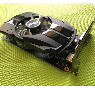 エイスース(ASUS)のASUS GTX 1050Ti 4GB(PC周辺機器)
