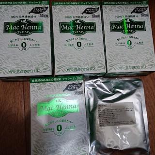 マック(MAC)のtomohide68さん専用マックヘナ 4箱+60g ナチュラルダークブラウン(白髪染め)
