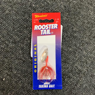 トラウト スピナー ルースターテール ROOSTER TAIL Flame(ルアー用品)