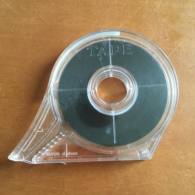 コクヨ(コクヨ)の罫線引テープ 黒 T-502 プラモ、ラジコン、Nゲージ、ホワイトボード等に インテリア/住まい/日用品のオフィス用品(その他)の商品写真